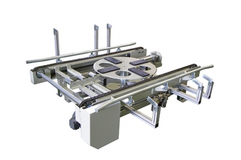 Chain conveyor + Turntable