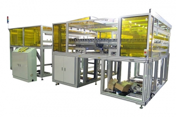 glass substrate conveyor