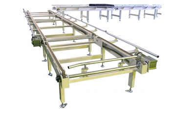 chain conveyor for pallet