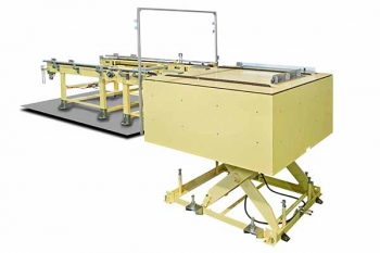 chain conveyor with lifting