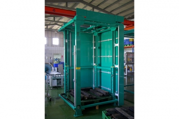 roller conveyor and lifter