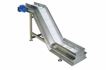 Food grade gooseneck belt conveyor