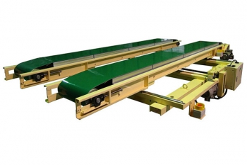 Multi lane conveyor belt