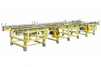 Lateral chain conveyor