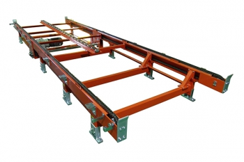 Chain conveyor + middle roller bases