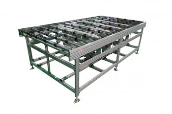 roller conveyor for panel industry