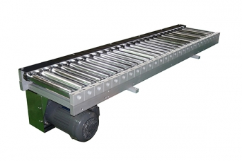 roller conveyor for batteries