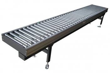 Roller conveyor + Ball transfer table