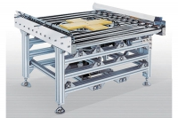 roller conveyor with turntable