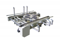 chain conveyor with turntable