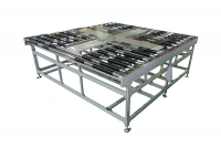 roller conveyor and turntable