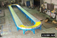 roller conveyor production line