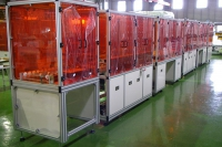 conveyor production line for panel