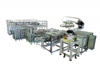 packaging and unpacking conveyor system