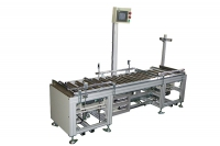 Picking out roller conveyor + dual transfer conveyor modules
