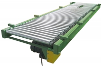 roller conveyor for box