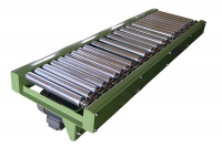 Roller conveyor for industry