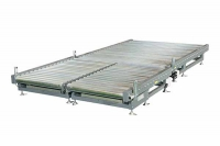 Ultra low roller conveyor