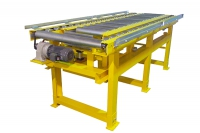 Retractable conveyor roller